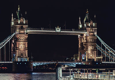 Photograph - Tower Bridge 4 by Nisah Cheatham