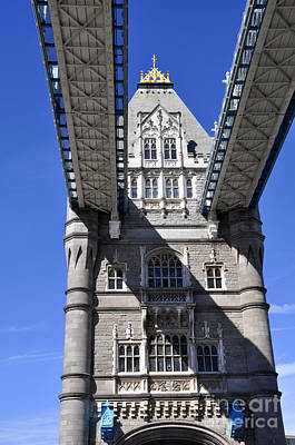 Photograph - Tower Bridge 5 by Andrew Dinh