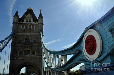Photograph - Tower Bridge 6 by Andrew Dinh