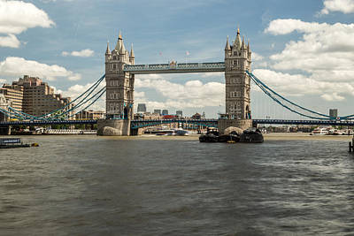 Photograph - Tower Bridge A by Jacek Wojnarowski