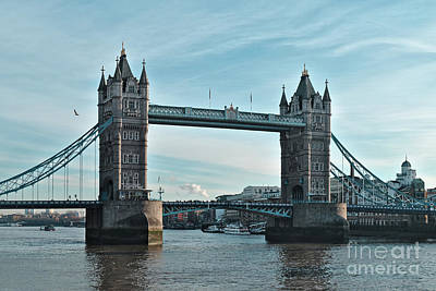 Photograph - Tower Bridge At Afternoon In London by Angelo DeVal