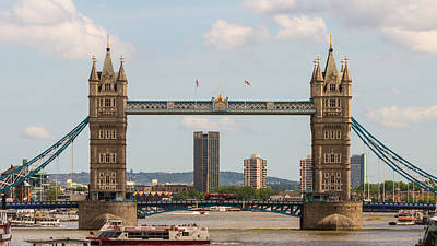Photograph - Tower Bridge C by Jacek Wojnarowski
