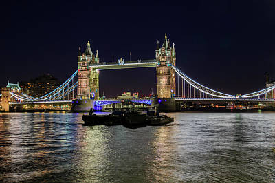 Photograph - Tower Bridge by Gary Hall