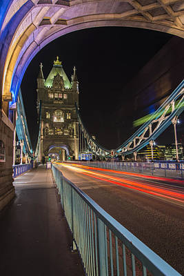 Photograph - Tower Bridge by Gary Lengyel