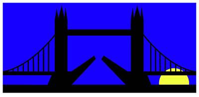 Digital Art - Tower Bridge In The Morning by Asbjorn Lonvig