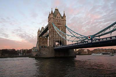 Photograph - Tower Bridge London by Aidan Moran
