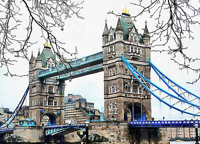 Photograph - Tower Bridge London by Dorothy Berry-Lound