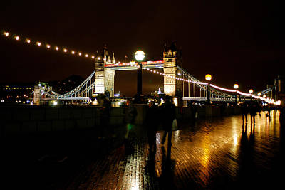 Art Print featuring the photograph Tower Bridge  London by Jane Melgaard