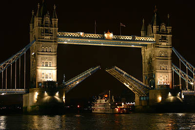 Photograph - Tower Bridge London by Joseph G Holland