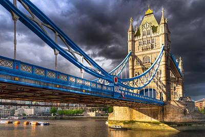 Photograph - Tower Bridge - London Landmark by Mark E Tisdale
