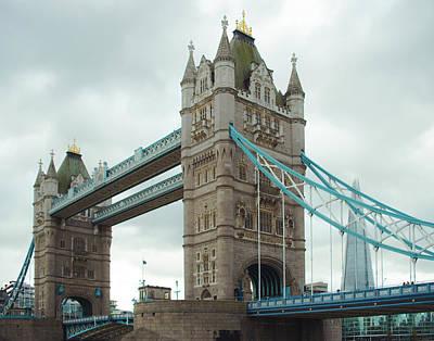 Photograph - Tower Bridge London by Sonja Quintero