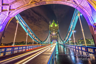 Photograph - Tower Bridge - London - Uk by Luciano Mortula
