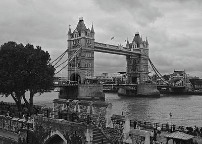Photograph - Tower Bridge by Matt MacMillan