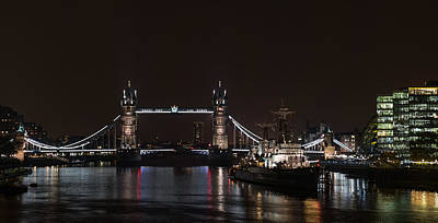 Photograph - Tower Bridge by Nisah Cheatham