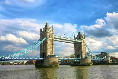 Photograph - Tower Bridge by Nora Martinez