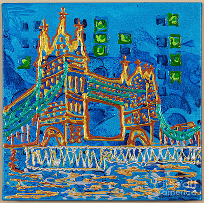 Painting - Tower Bridge by Sheila McPhee