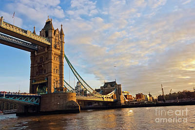 Photograph - Tower Bridge South Bank by Terri Waters