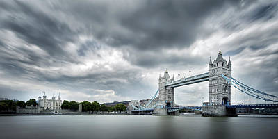 Photograph - Tower Bridge by Steve Caldwell