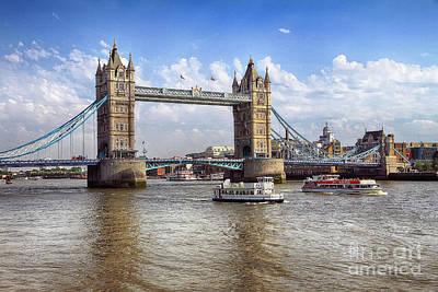 Photograph - Tower Bridge  by Teresa Zieba