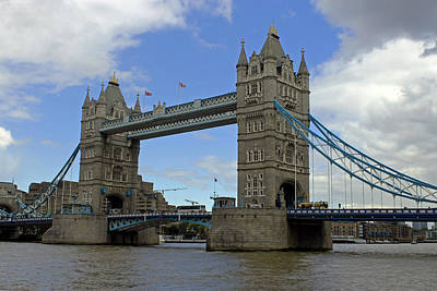Photograph - Tower Bridge by Tony Murtagh
