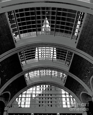 Photograph - Tower City Center by Peter Tompkins