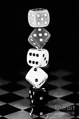 Photograph - Tower Dice  by Gerald Kloss