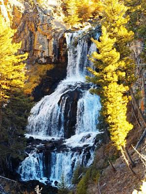 Photograph - Tower Falls @ Yellowstone by Adam Cornelison