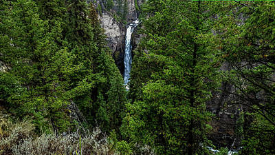 Photograph - Tower Falls, Yellowstone by Marilyn Burton