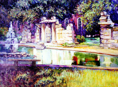 Painting - Tower Grove Park by Stan Esson