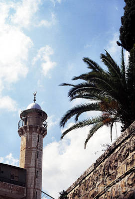 Tower Of David Photograph - Tower In Jerusalem by Thomas R Fletcher