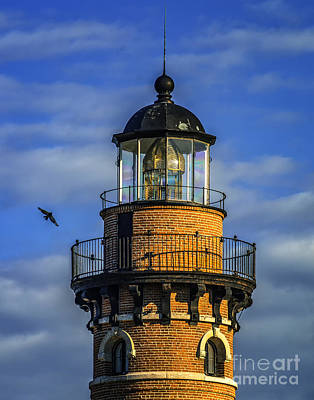 Photograph - Tower Light At Little Sable by Nick Zelinsky