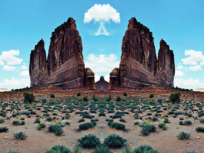 Photograph - Tower Of Babel Mirror by Kyle Hanson