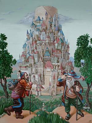 Tower Of Babel Art Print
