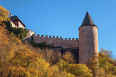 Photograph - Tower Of Karlstein Castle by Jenny Rainbow