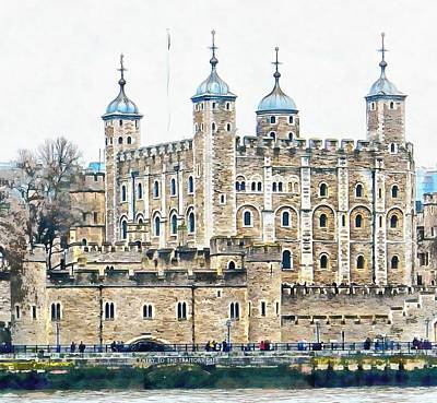 Photograph - Tower Of London 2 by Dorothy Berry-Lound