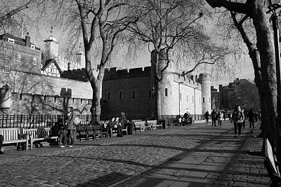 Photograph - Tower Of London, England by Aidan Moran