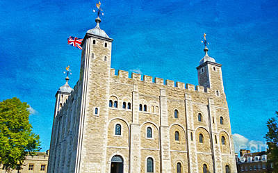 Tower Of London Photograph - Tower Of London by Laura D Young