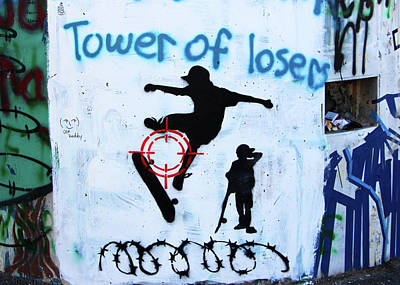 Photograph - Tower Of Losers by Munir Alawi