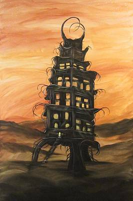 Painting - Tower Of Souls by J Edward Neill