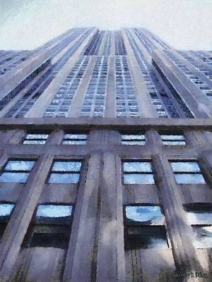Painting - Tower Of Steel And Stone by Jeffrey Kolker