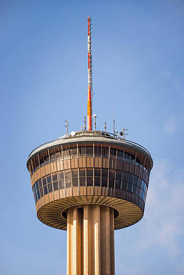 Photograph - Tower Of The Americas San Antonio Texas - Color by Gregory Ballos