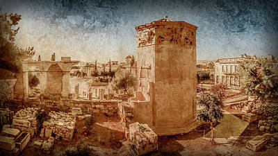 Photograph - Athens, Greece - Tower Of The Winds by Mark Forte