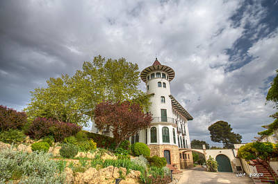 Photograph - Tower Of Wine by Walt  Baker