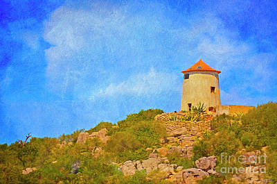 Photograph - Tower On The Hill by Mary Machare