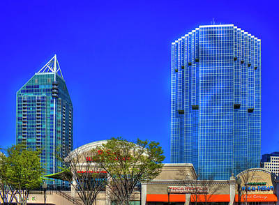 Office Space Photograph - Tower Place 100 Buckhead Atlanta Art by Reid Callaway