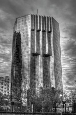 Photograph - Tower Place 2 Buckhead Office Tower Art by Reid Callaway
