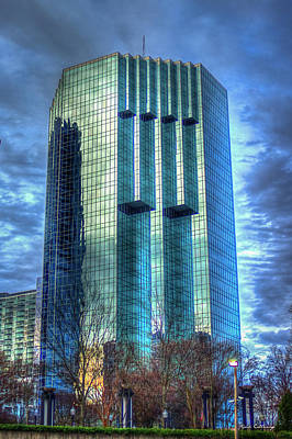 Photograph - Tower Place Dawn Buckhead Atlanta Office Tower Art by Reid Callaway