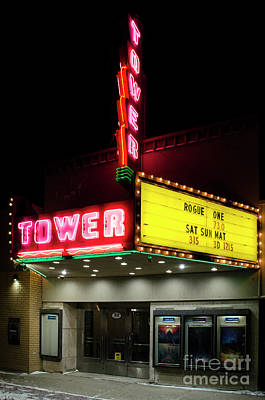 Photograph - Tower Theater Rogue One by Bob Christopher