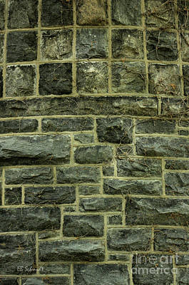 Photograph - Tower Wall by E B Schmidt