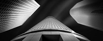 Los Angeles Photograph - Tower Wars by Az Jackson